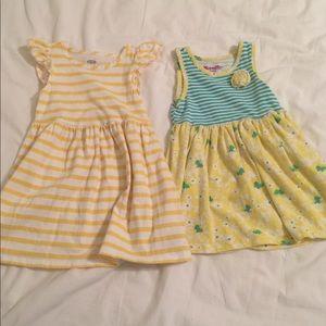 Set of girls sun dresses